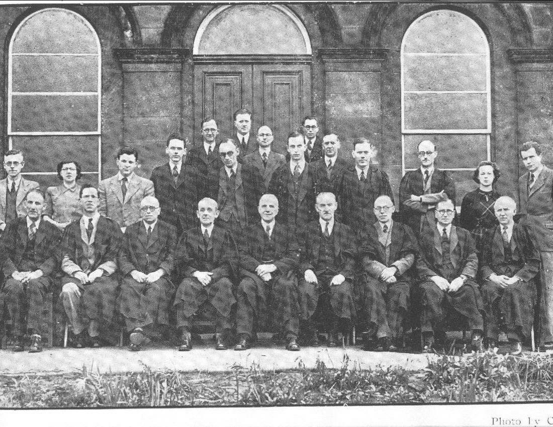 The B.I. Staff, 1949