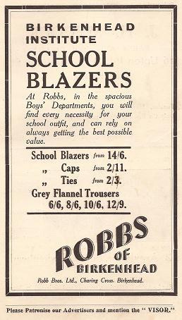 B.I. Blazers at Robbs, Birkenhead